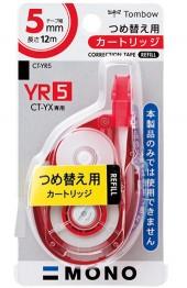 テープ幅:5mm 容量:12m CT-YR5