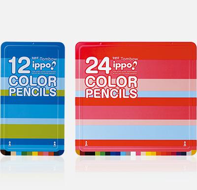 ippo! スライド缶入色鉛筆